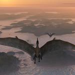 Leuchtkasten Dinosaurier