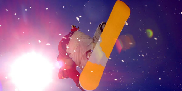Snowboarding at PantherMedia