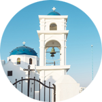 Leuchtkasten Kirchenglocke
