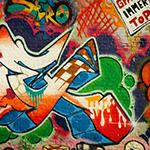 Lightbox Graffiti