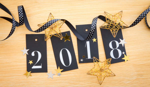 2018 steht vor der Tür!